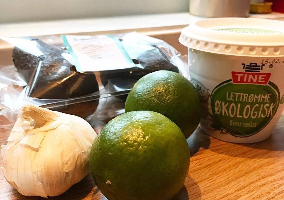 Oppskrift på guacamole